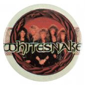 Whitesnake - 'Group in Circle' Button Badge